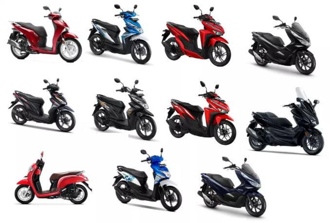 Motor Matic Terbaik Honda dan Yamaha